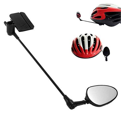 Lergo Bike Fahrrad Radfahren Rear View Helm Sicherheit Motorrad Rückspiegel -