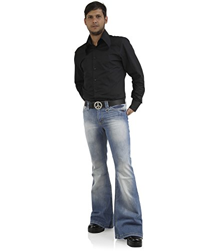 flared herrenjeans
