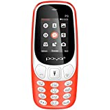 Poya P3 1.8 Inch Display, 1000 MAh Battery, Dual SIM, Vibrator‰ (Red)