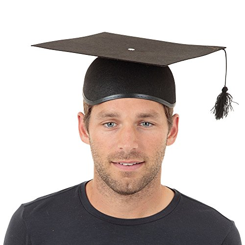 Bristol Novelty bh043a Doktorhut Filz Hat, One Size