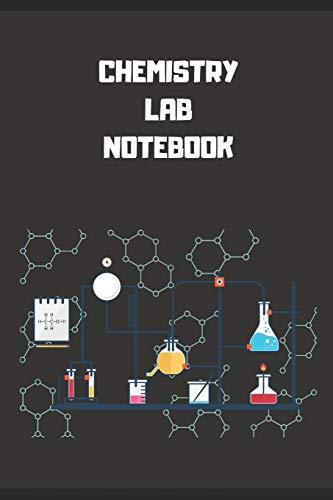 """Chemistry Lab Notebook: Each Page is Half College Ruled and Half 4"""" x 4"""" Grid Paper -120 Pages - 6"""" x 9"""" Pages - Lab Journal for Chemistry, Physics, Biology and Other Sciences"""