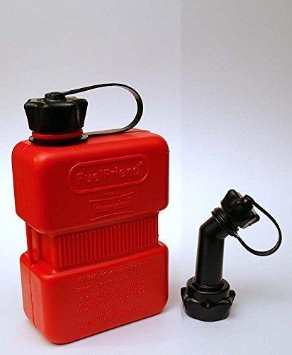 Preisvergleich Produktbild FuelFriend® PLUS 1 Liter Benzinkanister Reservekanister + Füllrohr verschließbar