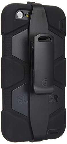 Griffin Survivor All Terrain Schutzhülle Case für Apple iPhone 6 Plus/6s Plus - Schwarz