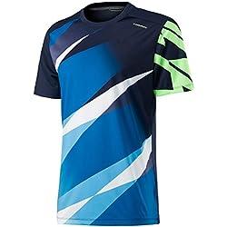 Head Vision Graphic Camiseta, color azul oscuro, tamaño M-140