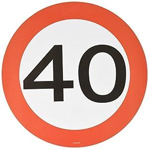 Folat B.V. Tabla y la Copa 40 ª montañas Cumpleaños señal de tráfico