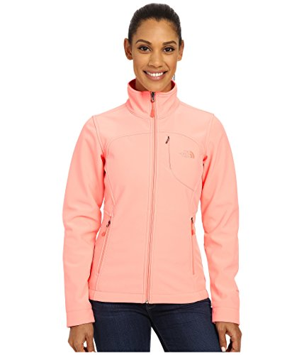 The North Face Women's Apex Bionic Jacket Neon Peach XS -