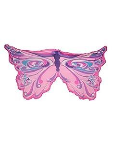 DREAMY DRESS-UPS 50572Rosa Hada Arco Iris alas Disfraz (Talla única)