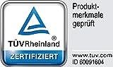 TAURO 24147 Kissenbezug Encasing Milbenkotdicht, kompakte Faserstruktur aus Mikrofilamenten, Frei von Schadstoffen, 80 x 80 cm - 4