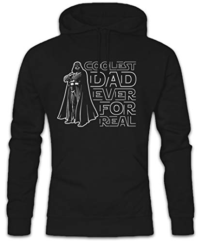 COOLEST DAD EVER HOODED SWEAT - Kapuzenpullover Hoodie - Darth Wars Vater Star Vader Sith Größen S - 2XL (M)