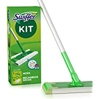 Swiffer - Kit Mopa con 8 recambios secos
