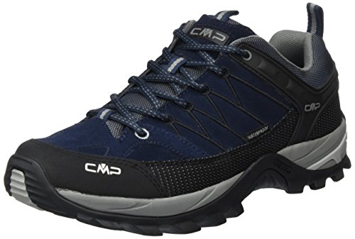 CMPRigel - Scarpe da trekking e da passeggiata Uomo , Blu (Blau (B.Blue-Argento 517Q)), 41