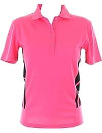 New Gamegear Cooltex Maillot d'entraînement Wear T-Shirt Rib Maille plate pour le col Polo