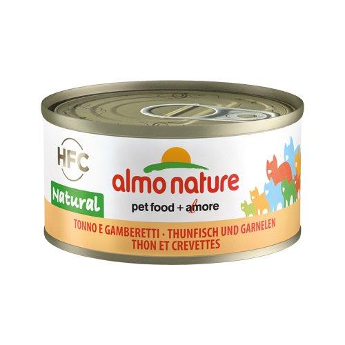 Almo Nature HFC 70 Natural - Thunfisch & Garnelen - 24 x 70 g