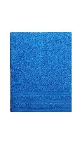 Set Asciugamani Bagno Telo Viso e Ospite 1+1 in Spugna 100% cotone Bassetti (Blu Royal)