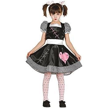 54829526c4 Ragazze Assassino Bambola di pezza Halloween Film TV Libro Spaventosa  Carino Carnevale Costume Vestito 5-12 Anni - 7-9 Years