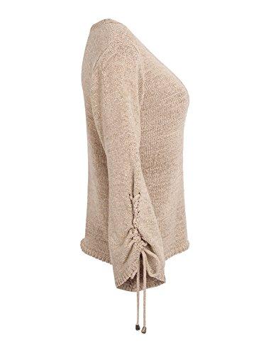 Simplee Apparel Damen Pullover Khaki