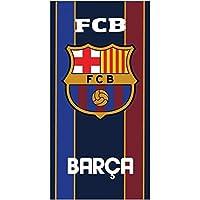 Serviette de bain Drap de plage coton Fc barcelone Barça Messi Suarez