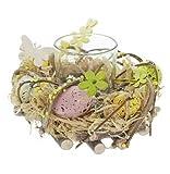 Osterkranz Tischdekoration für Ostern Osterschmuck Osterdeko schöne Dekofigur zu Ostern