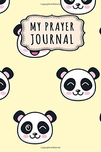 My Prayer Journal: Panda Daily Prayer / Gratitude Journal | 110 Days | 6 x 9