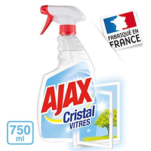 Ajax detergente per vetri spray cristallo 750ml-Set di 4