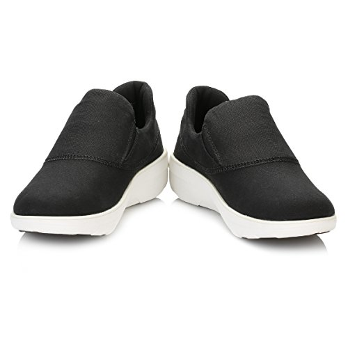 FitFlop Loaff Sportive Slip-on Baskets Noirs Noir
