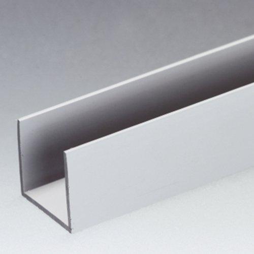 Thomafluid U-Profil aus PVC-U, A: 27 mm, B: 22 mm, Länge: 1.000 mm