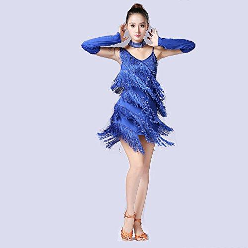 Dance Rock Tango Rock Self-Cultivation Show Kleidung Tanzwettbewerb Performance Kostüm (1920er Paar Kostüme)
