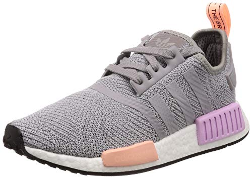 7f8a9109e2f97 Adidas NMD R1 W Light Granite Light Granite Clear Orange 38