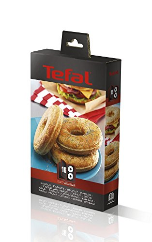 Tefal XA801612 Snack Collection Bagel-Set, Zubehör für Donuts Bagel