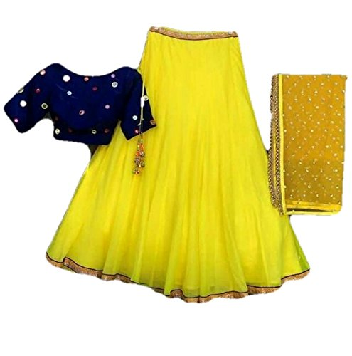 New Launch For Party,Wedding or Festival Wear Unique Embroidery Work Lehenga Cholis/Salwar...