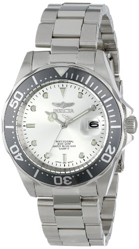 41QMdbfgeOL - Invicta Pro Diver Silver Mens 14971 watch