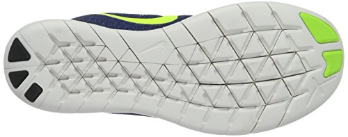 Nike Wmns Free Rn, chaussure de sport femme Viola (Purple Dynasty/Volt Black Bright Mango)
