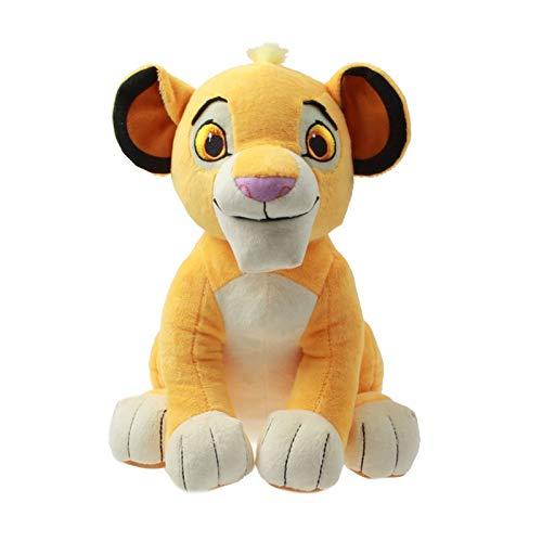 xuritaotao 26 cm Nette Simba Der König Der Löwen Plüschtiere Weichen Löwen Kuscheltiere Simba Puppe Spielzeug Für Kinder Geburtstagsgeschenke Dekoration (König Der Löwen Puppe)