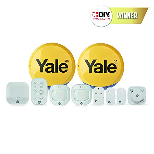 Yale IA-340 Sync Smart Home Alarm - Full Control Kit, Compatible with Alexa and Philips Hue