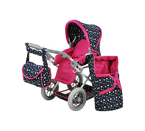 (Knorr Toys 63106 Knorrtoys 63106-Puppenwagen Ruby Puppenwagen, Star Blue)