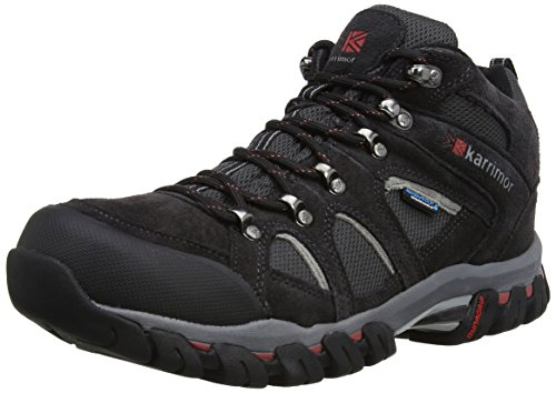 Karrimor Bodmin IV Weathertite, Men's Trekking and Hiking Shoes, Black (Black Sea),...