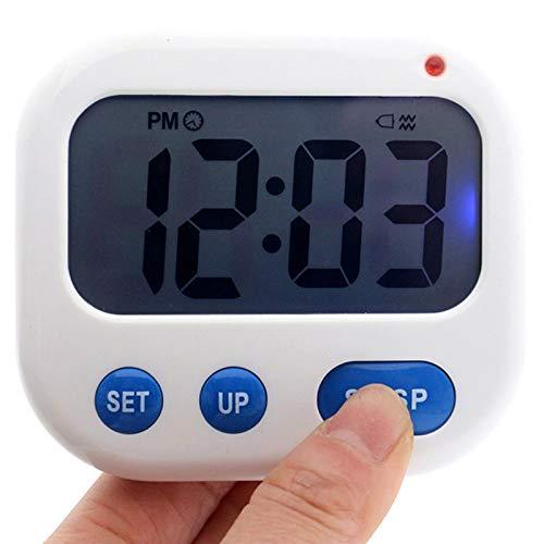 TOOGOO Despertador de Vibración Temporizador Digital LED Luminova Reloj de Caramelo Electrónico Reloj...