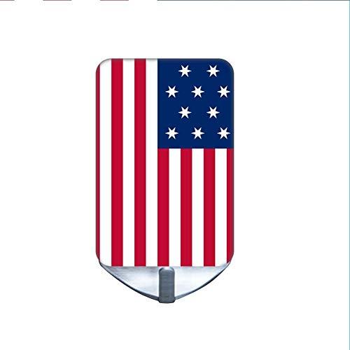 Gut Verwenden Sie Auf Kitchen Steel Hooks (Set Of 10) Boys Nicht Korrosiver Stahl Drucken American Flag -