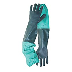 2 Pack Of Drain & Pond Cleaning Outdoor Gardening Gloves