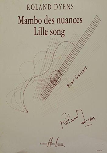 Mambo des Nuances et Lille Song
