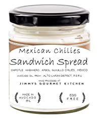 Jimmys Gourmet Kitchen (Sandwich Spread Mexican)(Avocado Oil Chipotle Habareno Aribol Chilies)(Natural)(225g)