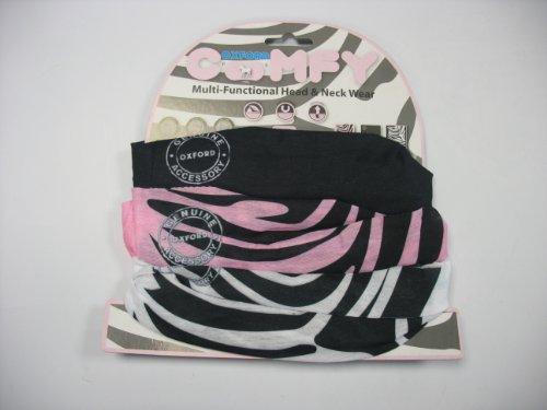 Oxford Products Plage Comfy Cache-Cou/écharpe/chapeau multicouleur - Zebra