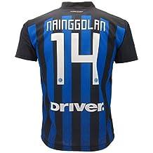 F.C.Internazionale MAGLIA NAINGGOLAN INTER MAGLIETTA CALCIO prodotto  ufficiale 2018 19 bambino ragazzo uomo ( 5fba4d8f88c