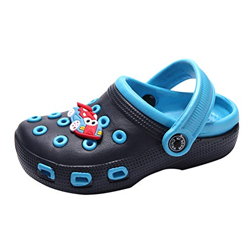 De feuilles Kinder Clog Pantoletten Crocband Schuhe Sandale Badeschuhe rutschfeste Latschen Slippers mit Cartoon Raupe Sommer Strandschuhe Schmetterling Clogs Pantoletten -