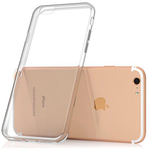 SDTEK-iPhone-7-Plus-Custodia-Cover-Case-Bumper-Caso-Trasparente-Crystal-Clear-Silicone-Gel