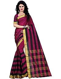 Trendz Cotton Silk Saree (Tz_Pari_Pink_Pink)
