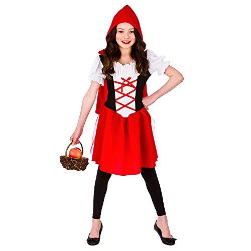 Imagen de disfraz de caperucita roja para niñas m 5 7 años 122 134cm