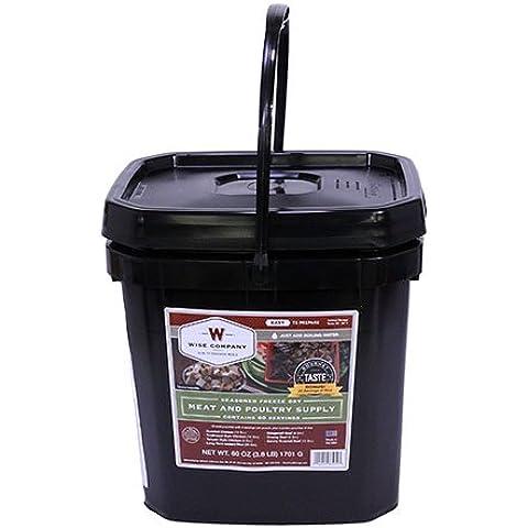 Saggio Azienda 60 Serving Gourmet Condito Congelare Carne secca (7-Pounds)