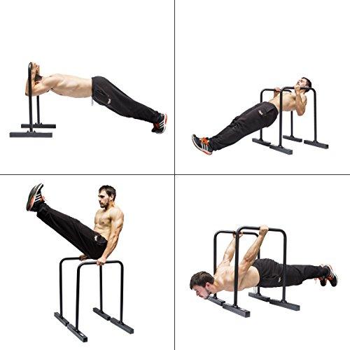 Gravity Fitness Dip-Barren, Parallettes, für Crossfit, Freiübungen etc. - 3