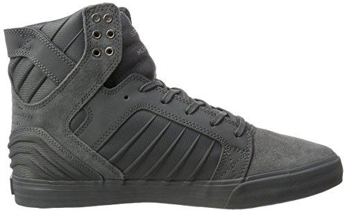 Supra 08174, Chaussures D'athlétisme Pour Homme Gris (gris-gris)